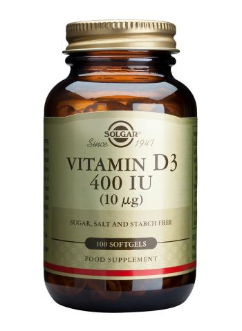 Solgar Vitamin D Softgels (400 iu.) - 100