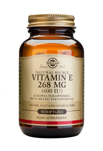 Solgar Vitamin E Mixed Softgels 268mg 400iu