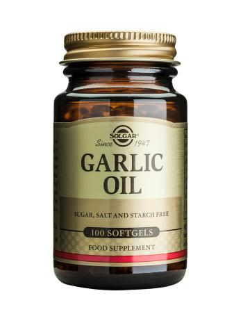 Solgar Garlic Oil Softgels (100)