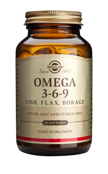 Solgar Omega 3-6-9 Softgels (60 tablets)