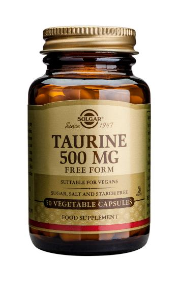 Solgar Taurine 500mg (Free From) (50)