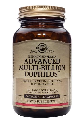 Solgar Advanced Multi-Billion Dophilus (Non-Dairy) veg caps