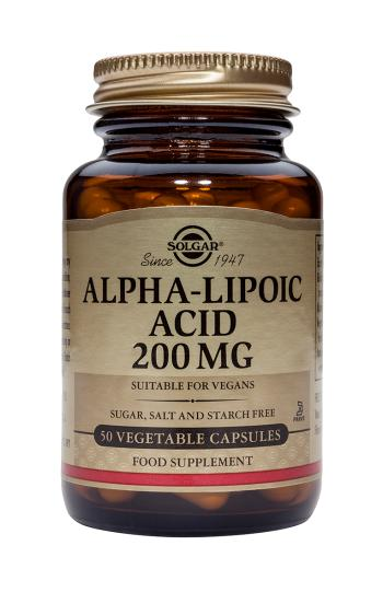 Solgar Alpha Lipoic Acid 200mg - 50 veg caps