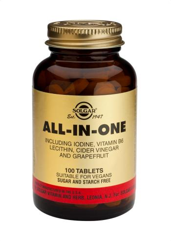 Solgar All-in-One Tablets (100)