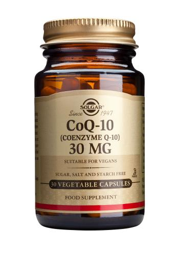 Solgar Co-Q10 30mg vegetable capsules