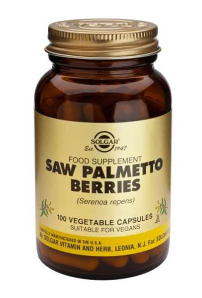 Solgar Saw Palmetto Berries Vegetable Capsules (100)