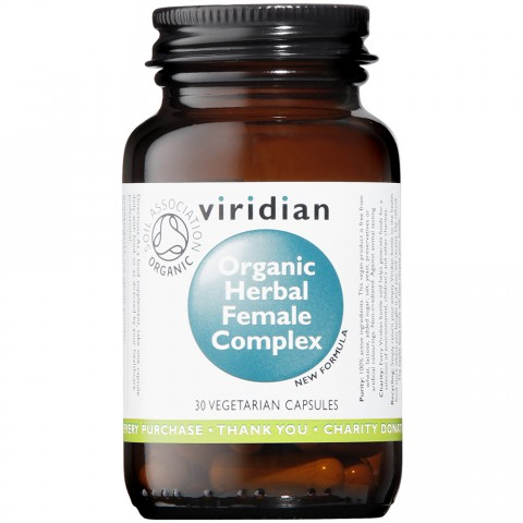 Viridian Organic Herbal Female Complex Capsules