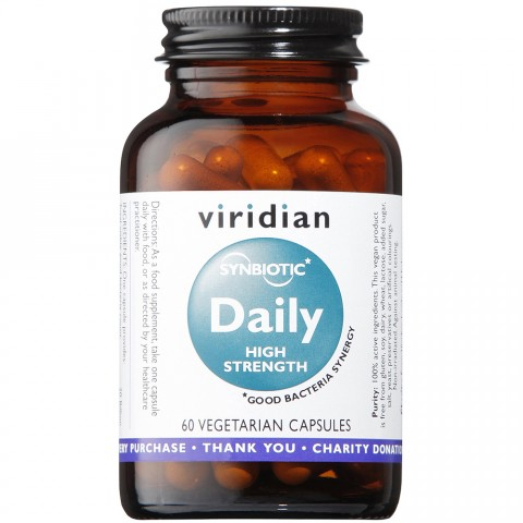 Viridian Synbiotic Daily High Strength Capsules