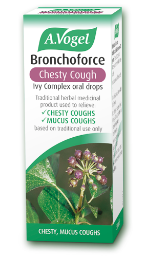 A.Vogel Bronchoforce for coughs, bronchitis and emphysema.