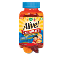 Nature's Way Alive! Children's Soft Jells Multi-vitamin 60 chewable