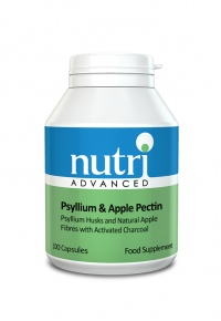 Nutri Advanced Psyllium & Apple Pectin 100 Caps