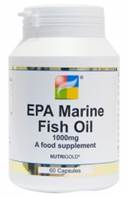 Nutrigold EPA Marine Fish Oil 1000mg veg caps