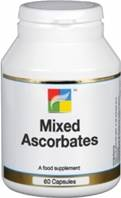 Nutrigold Mixed Ascorbates - 60 caps