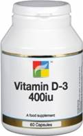 Nutrigold Vitamin D-3 400iu - 60 caps