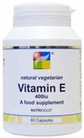 Nutrigold Vitamin E 400iu - 60 caps