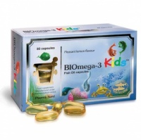 Pharma Nord BIOmega-3 Kids Fish Oil 1000mg (80)