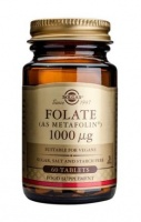 Solgar Folate 1000 µg (as Metafolin) Tablets
