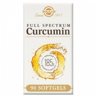 Solgar Full Spectrum Curcumin 185x Softgels 90