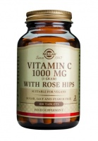 Solgar Vitamin C 1000 mg with Rose Hips Tablets - 1000mg