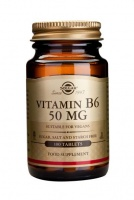 Solgar Vitamin B6 50 mg Tablets