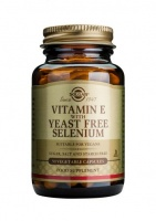 Solgar Vitamin E with yeast-free Selenium - caps