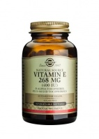 Solgar Vitamin E 268 mg (400 IU) Vegetable Softgels