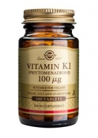 Solgar Vitamin K1 tablets 100mcg - 100