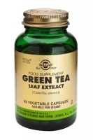 Solgar Green Tea Leaf Extract Vegetable Capsules (60)