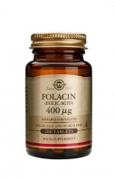 Solgar Folacin 400 µg (Folic Acid) Tablets