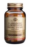Solgar L-Arginine 500mg plus L-Ornithine 250mg - 50