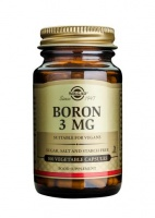 Solgar Boron 3mg Vegetable Capsules - 100