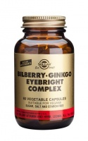 Solgar Bilberry Ginkgo Eyebright Complex - 60