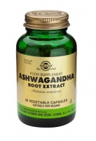 Solgar Ashwagandha Root Extract Vegetable Capsules (60)