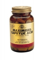 Solgar Maximised Caprylic Acid 100 Tabs