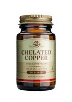 Solgar Chelated Copper 100 tabs