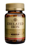 Solgar Chelated Iron 100 tabs
