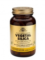 Solgar Vegetal Silica Vegetable Capsules (100)