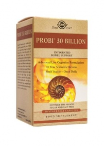 Solgar PROBI 30 Billion Vegetable Capsules (30)