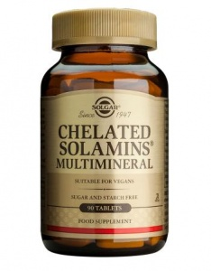 Solgar Chelated Solamins Multimineral Tablets