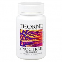 Thorne Research Zinc Citrate 30mg