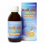 Cleanmarine Krill Oil for Kids Orange Burst (150ml)