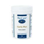 BioCare Garlic Plus 400mg (with Biotin) 90