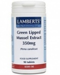 Lamberts Green Lipped Mussel Extract 350mg (90)