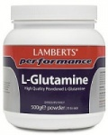 Lamberts Performance L-Glutamine Powder - 500g