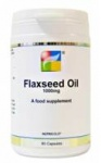 Nutrigold Flaxseed Oil 1000mg capsules - 90 caps