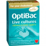 Optibac Probiotic for Your Cholesterol 30 + 30 Capsules