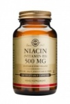 Solgar Niacin 500 mg (Vitamin B3) Vegetable Capsules - 100