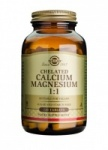 Solgar Chelated Calcium Magnesium 1:1 Tablets - 120