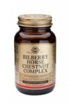 Solgar Bilberry Horse Chestnut Complex Vegetable Capsules