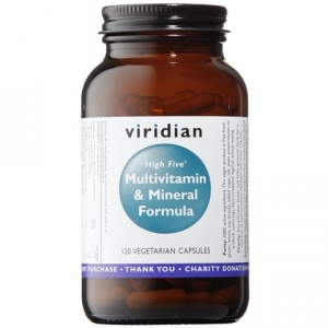 Viridian High Five Multivitamin & Mineral Formula Capsules